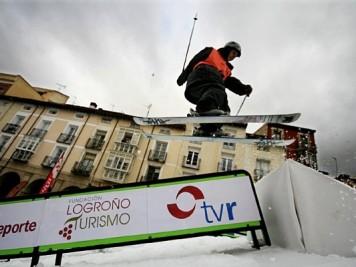 Luis Goñi Logroño snow World