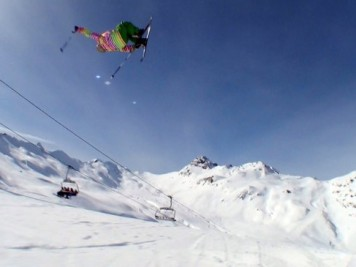 Luis Goñi Cork 7 revers japan Snowpark Formigal