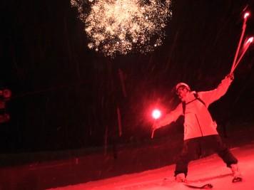 Luis Goñi Fuegos artificiales Snowbasin