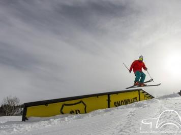 Luis Goñi Snowpark SNowbasin