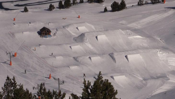 Luis Goñi Snowpark port Ine