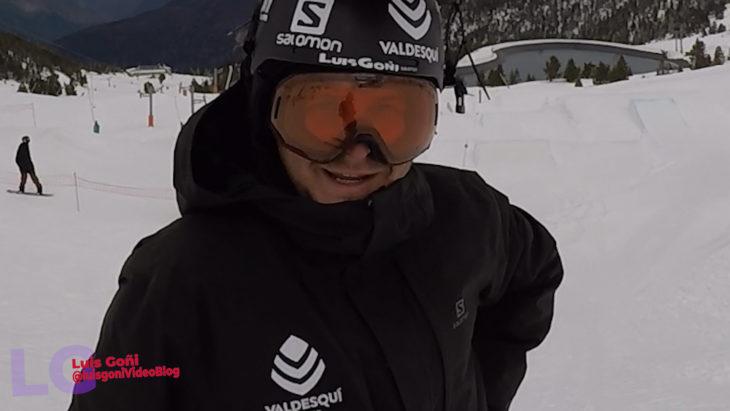 Luis Goñi Port Aine ski
